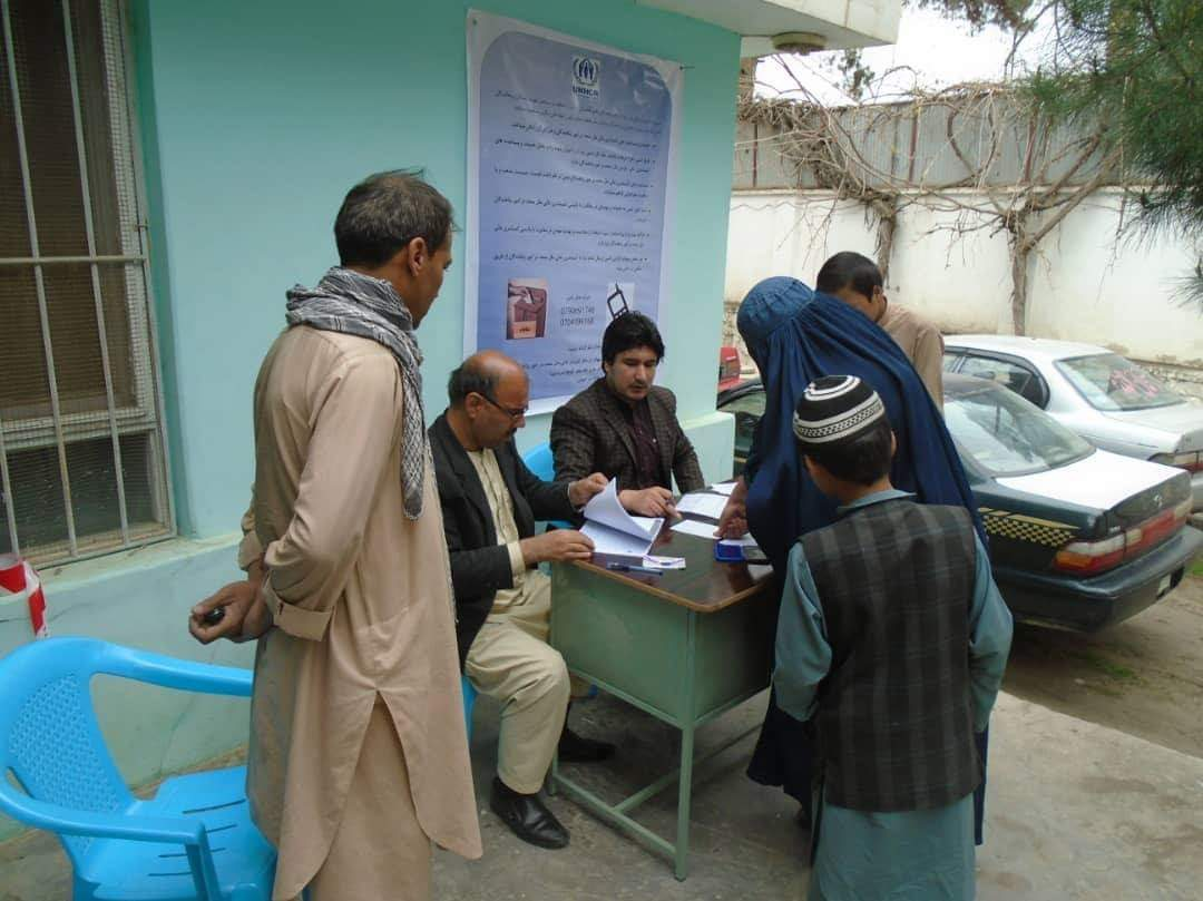 In Baghlan Province 322 Internal Displaced Families Are Assisted