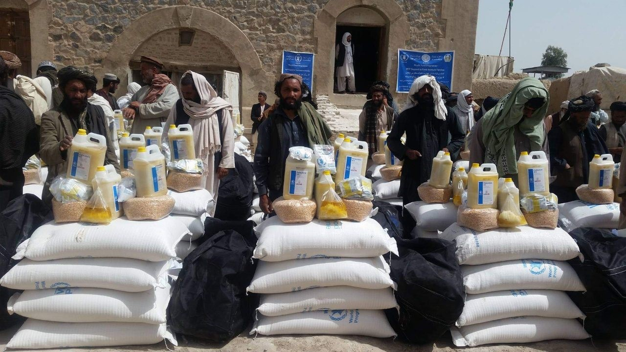 In Kandahar Province 61 Internal Displaced Families Are Assisted