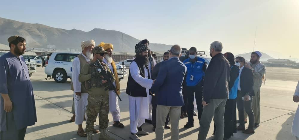 کمیسار عالی سازمان ملل متحد در امور پناهندگان با سرپرست وزارت امور مهاجرین دیدار کرد
